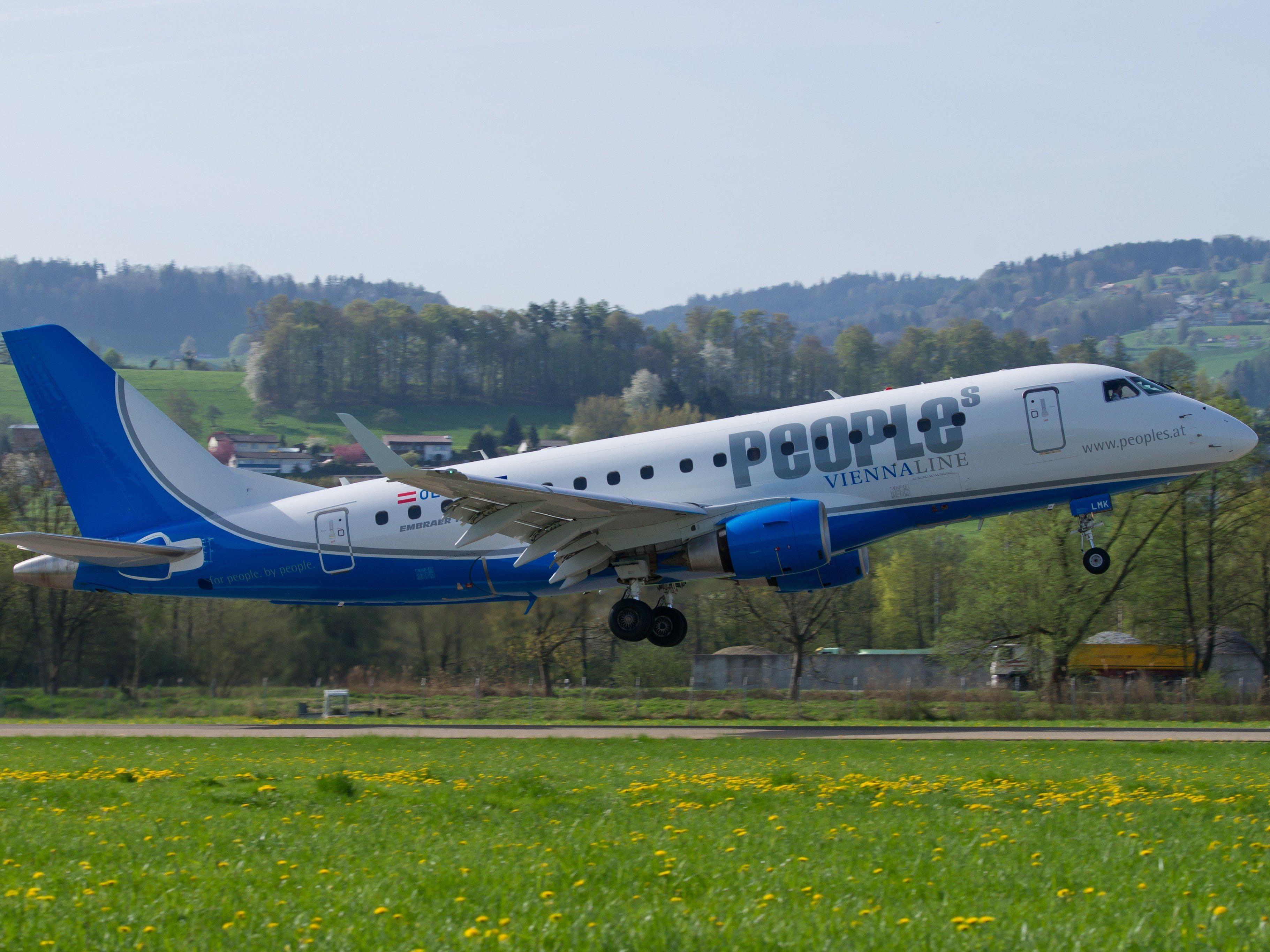 Die Fluglinie People's will von Altenrhein aus bald mehr Destinationen anfliegen als nur Wien.