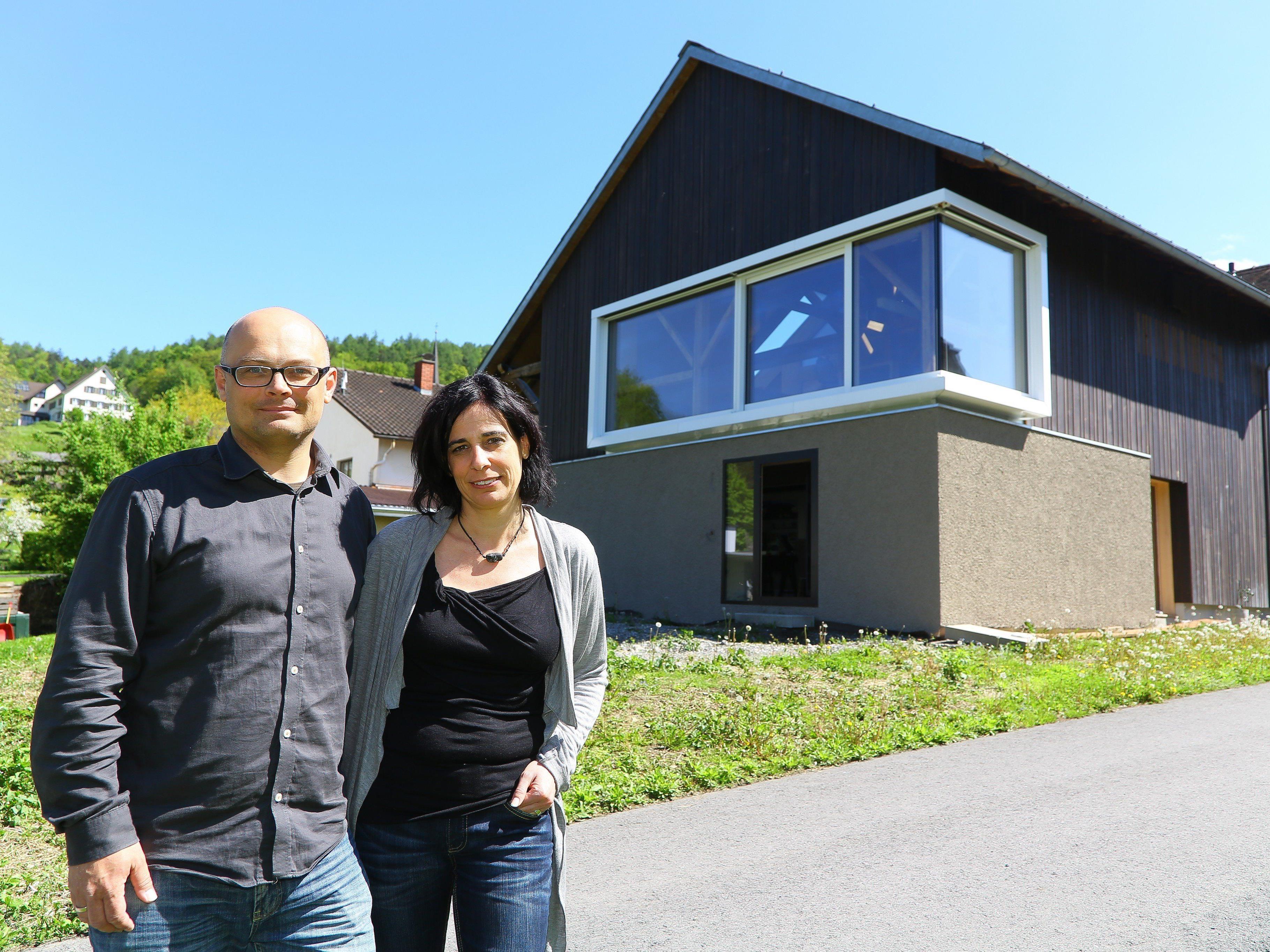 Auch das Haus von Alexandra und Hannes Zumtobel kann besichtigt werden.