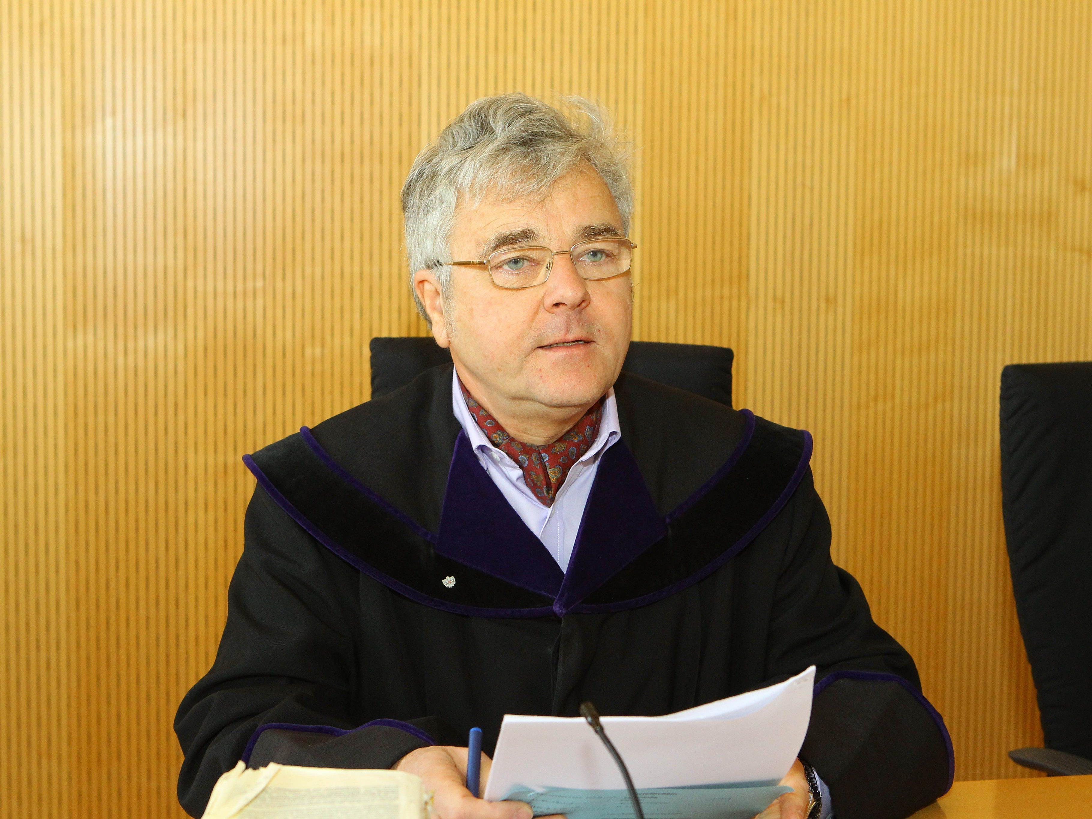 Richter Peter Mück riet Verurteiltem zur Therapie.