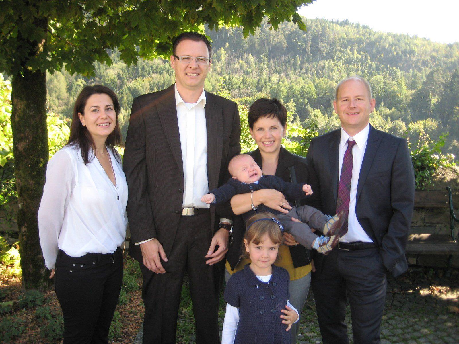 Samuel Oehri wurde getauft.