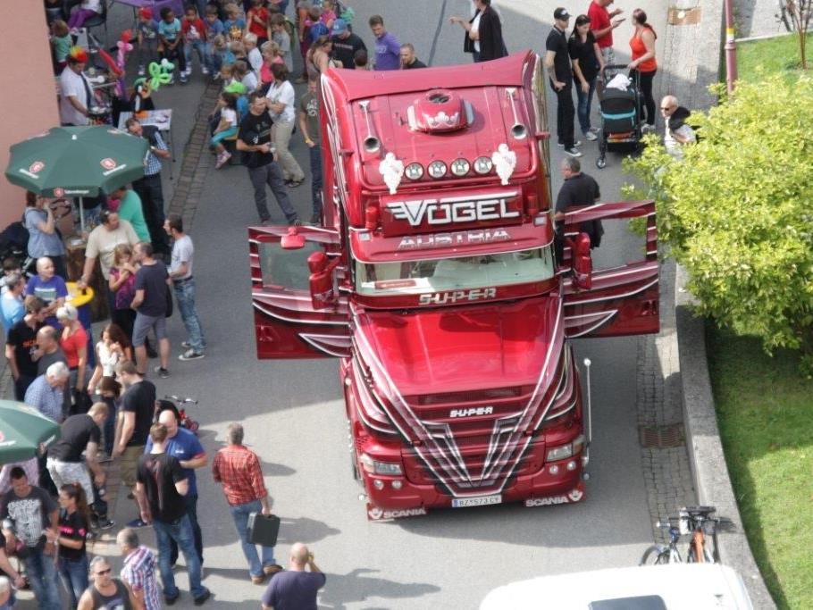 6. Scania Treff in Sulz war ein Publikumshit.