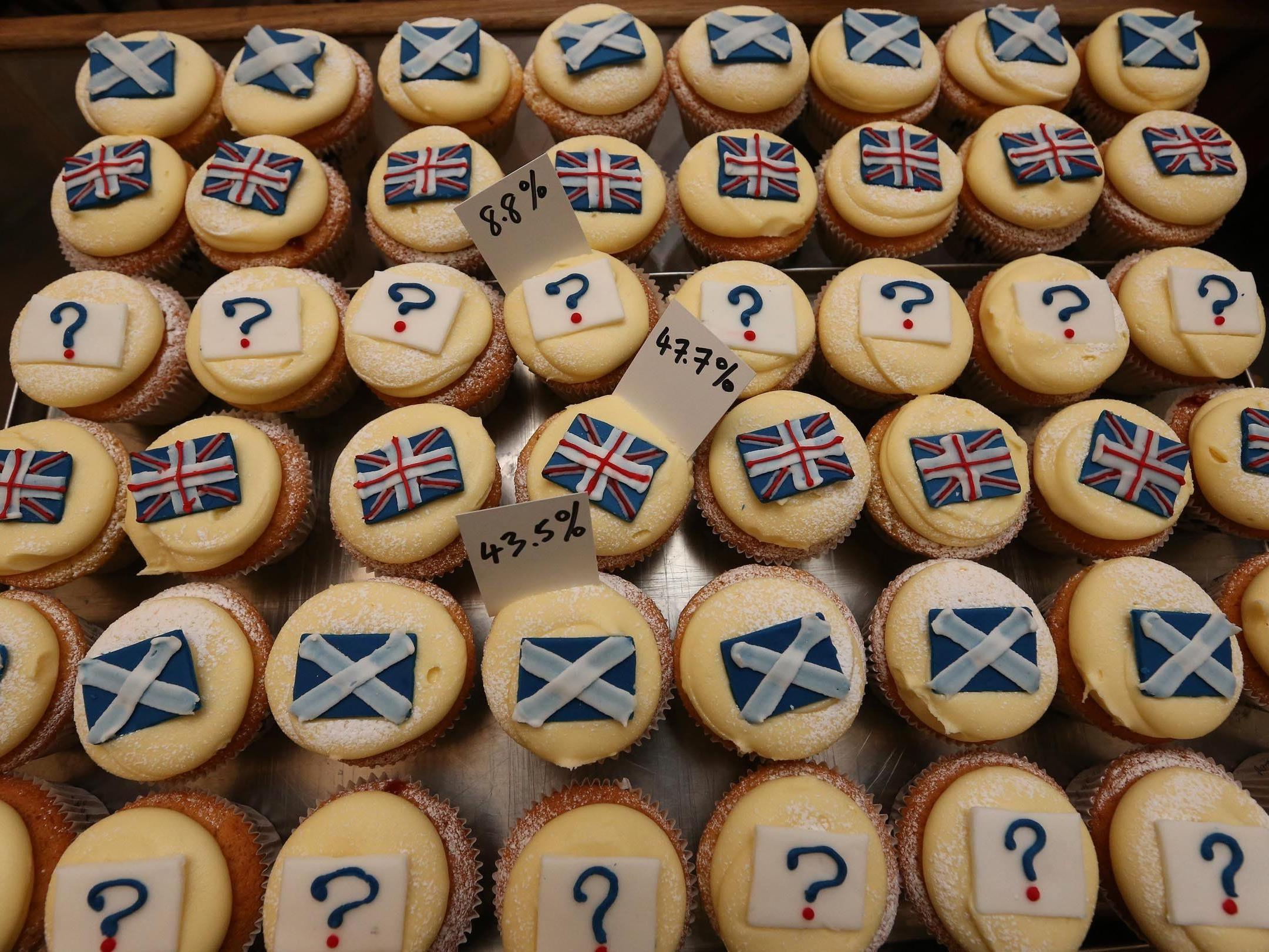 Für das Referendum um Schottlands Unabhängigkeit wird eine hohe Wahlbeteiligung erwartet.