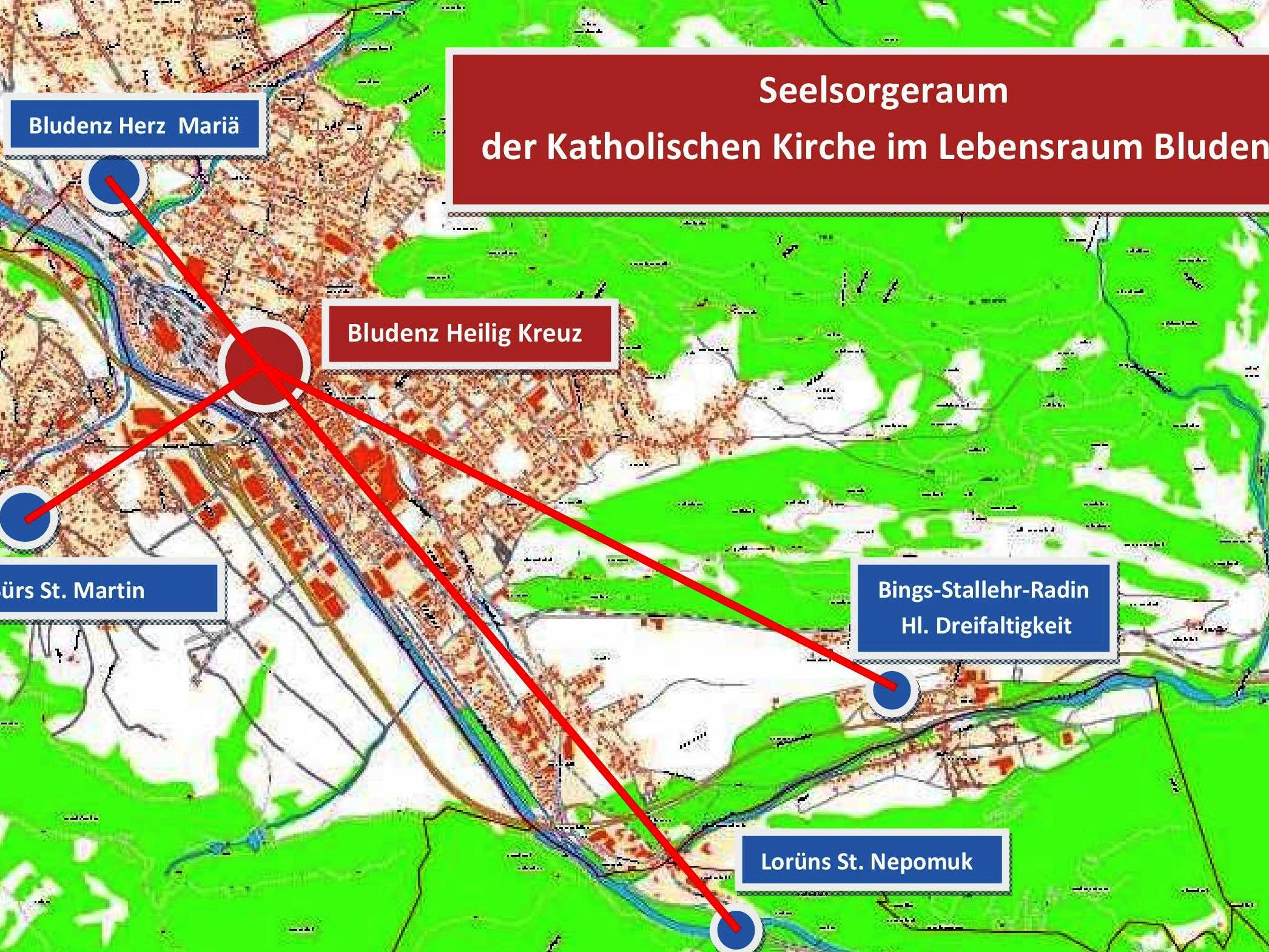 "Ab Herbst neu: ""Seelsorgeraum Bludenz""."