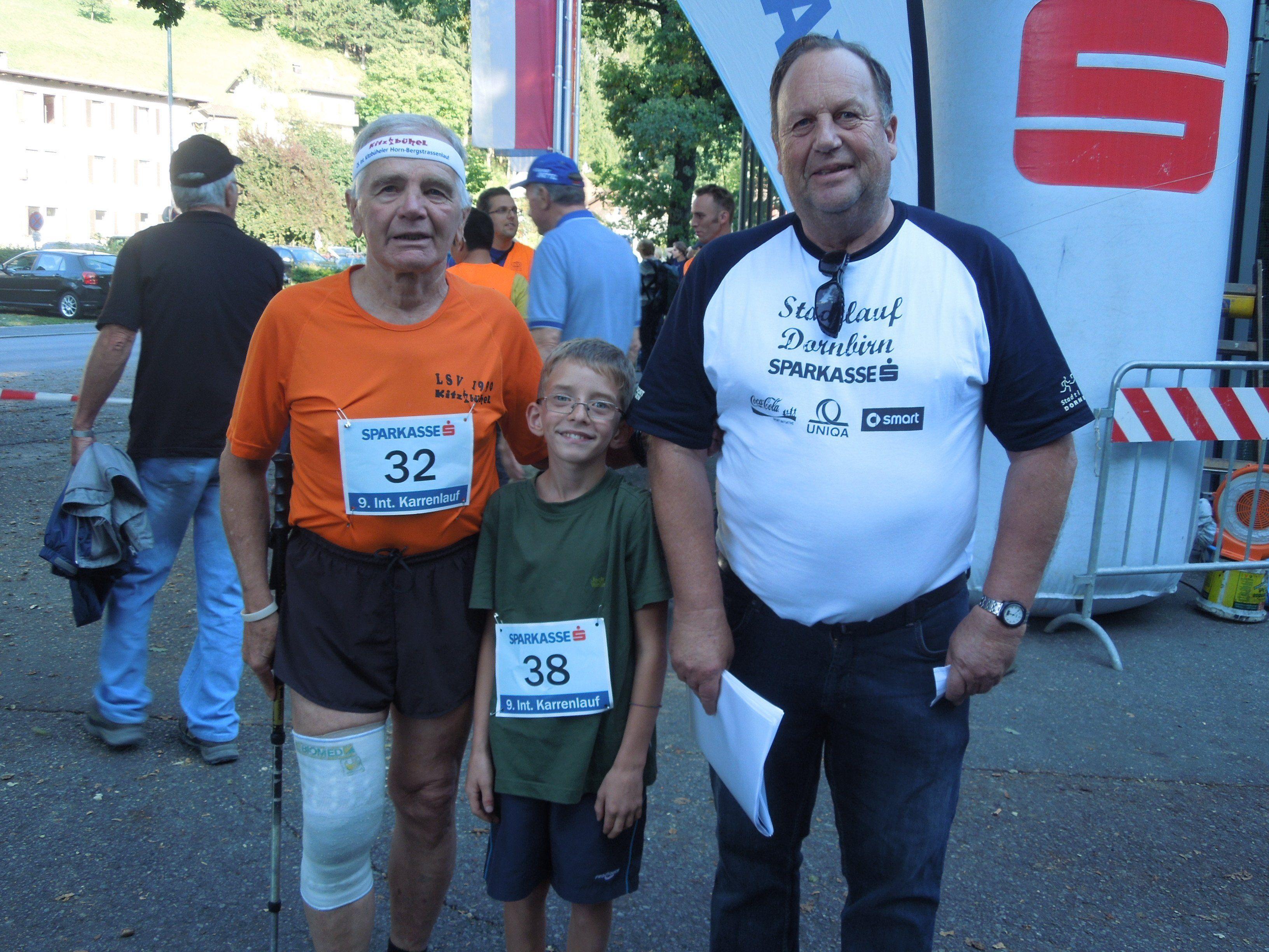 Veranstalter Eugen Gottselig vom SC Gütle freut sich auch heuer wieder Teilnehmer aller Altersklassen beim Sparkassen Karrenlauf zu begrüßen.