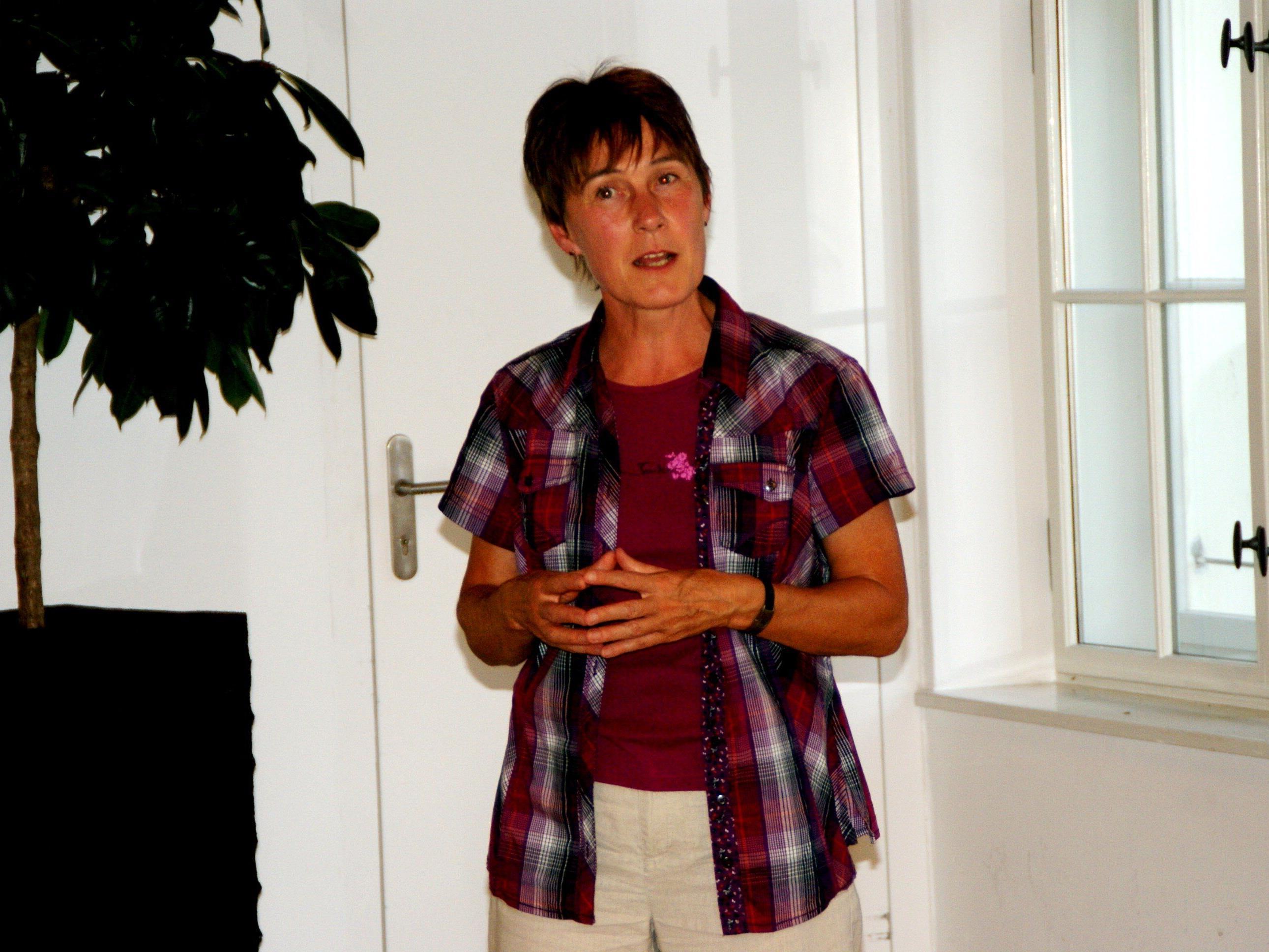 Monika Madlener referierte über Tai Chi und Qi Gong