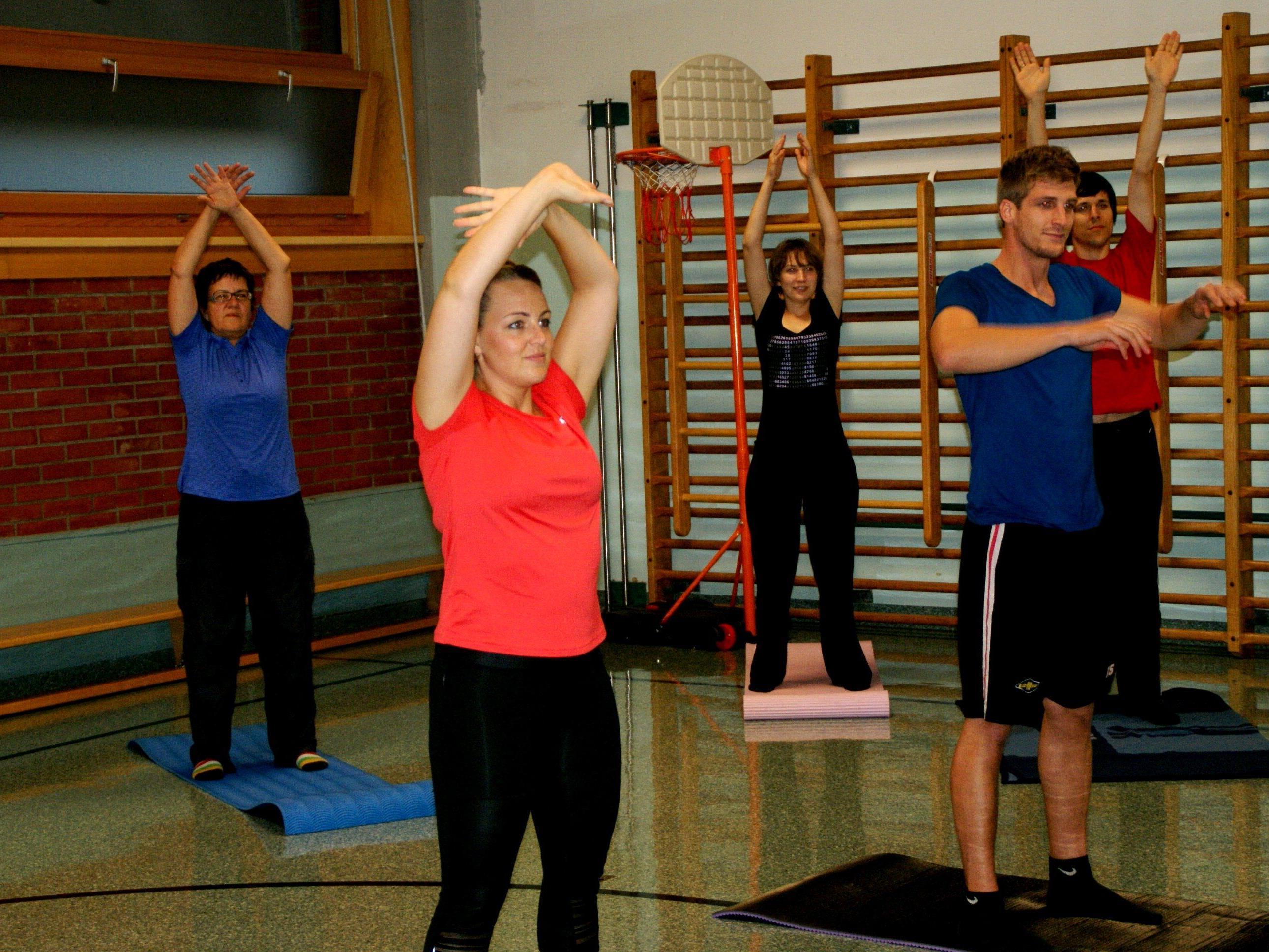 Den Körper trainieren