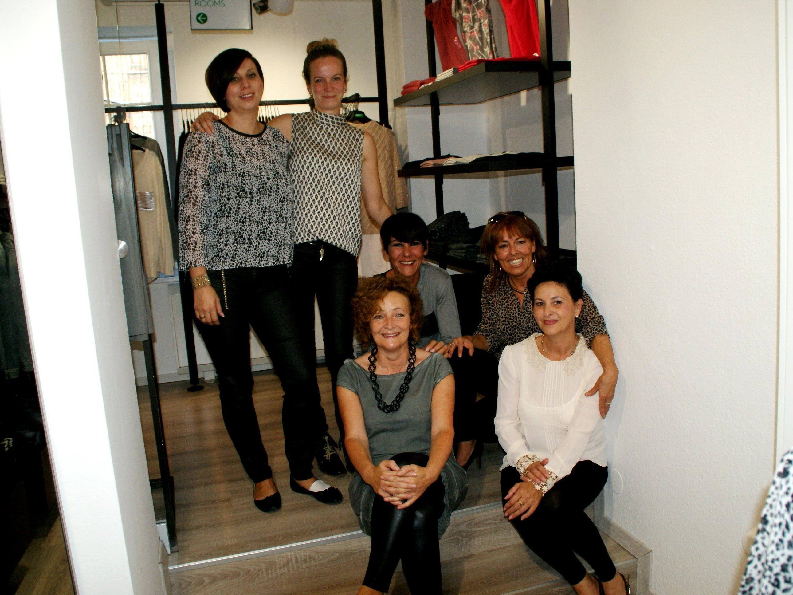 Margit, Carmen, Nina, Franka, karin, Heidi