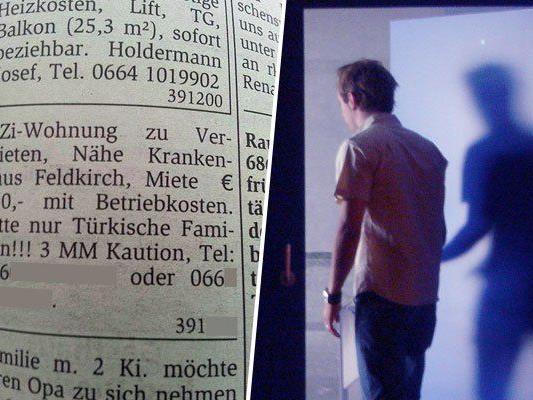 Solche Formulierungen sind in Österreich nicht erlaubt - egal welche Gruppe bevorzugt wird.
