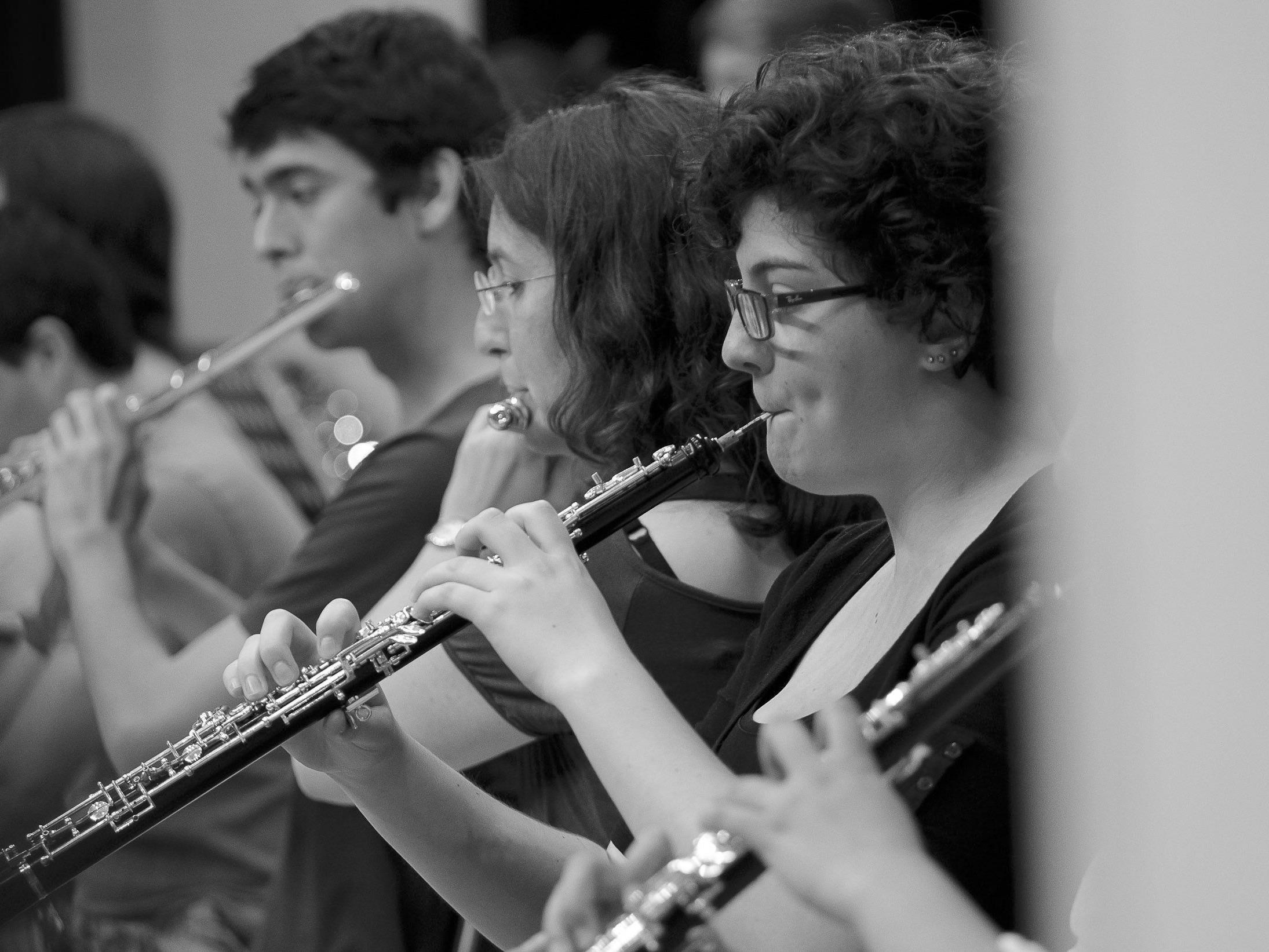 Konzert am Mittag, vorarlberg museum, 26.09. 2014 (Abschlusskonzert der Meisterklasse für Oboe und Kammermusik 8.- 13. September 2014 / Adrian Buzac und Christoph Hartmann)