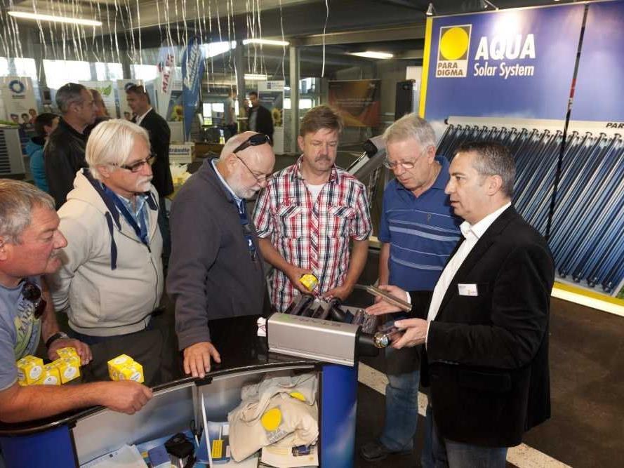 Rund 1200 Besucher ließen sich beim Vorarlberger Solar- und Wärmepumpentag über die neuesten Produkte und Trends im Bereich der ökologischen Energieversorgung beraten.