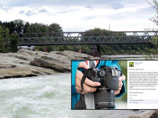 Kamera der 15-Jährigen fiel beim Unglück ins Wasser.