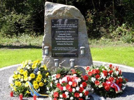 Am Mittwoch wurde der Gedenkstein in NÖ feierlich enthüllt.