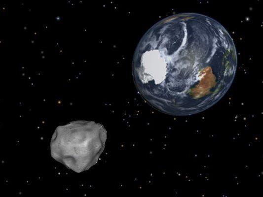 Asteroid passiert Erde