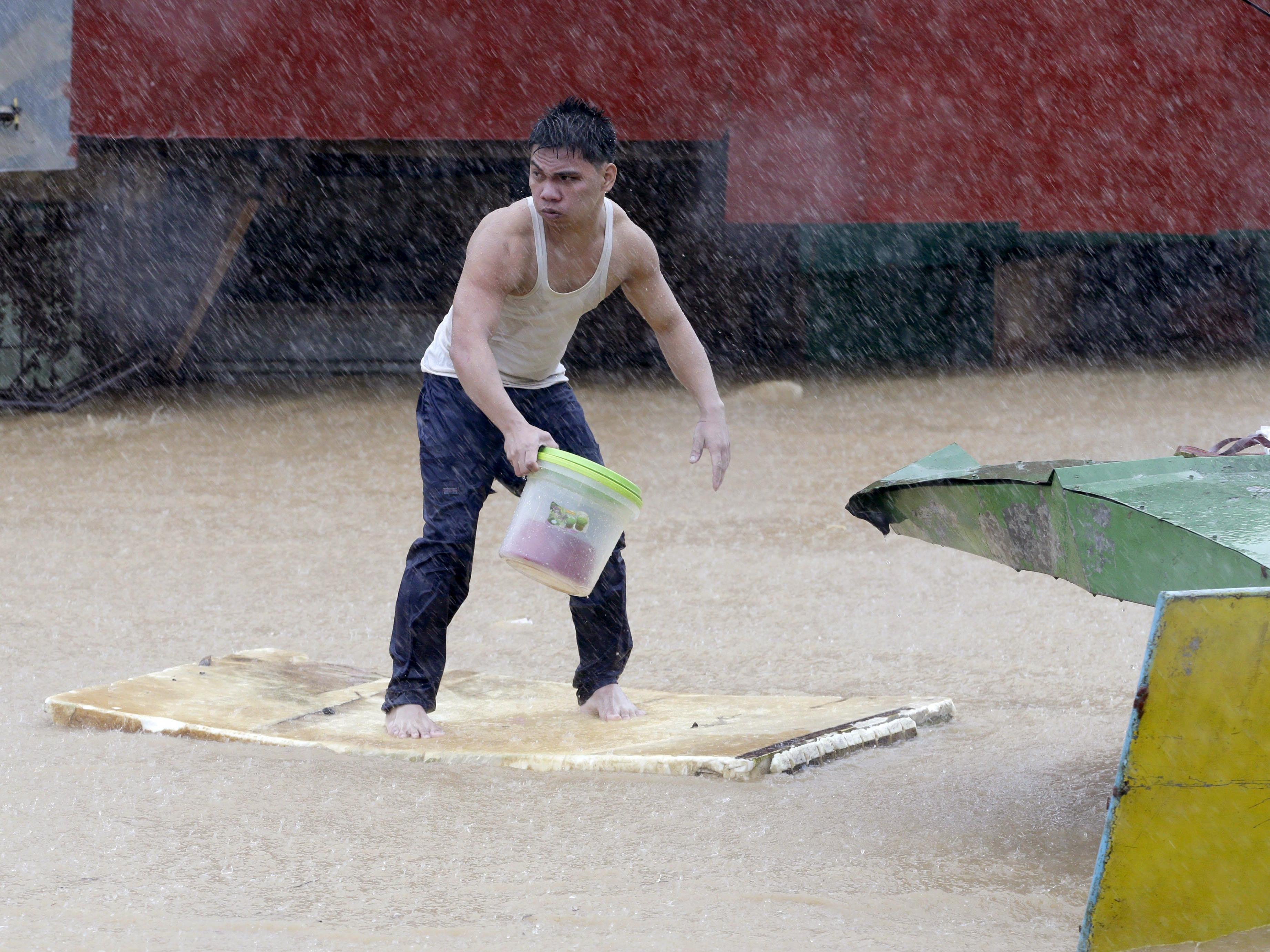 Der Monsunregen in Thailand setzte bereits 27 Provinzen unter Wasser.