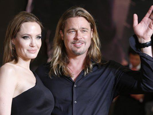 Brad Pitt und Angelina Jolie haben vor Kurzem geheiratet