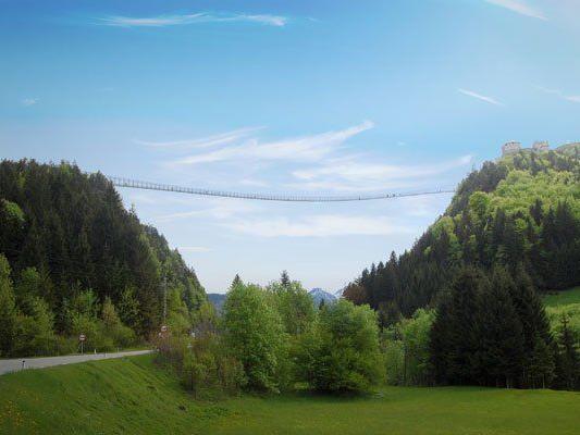 Die längste Hängebrücke der Welt