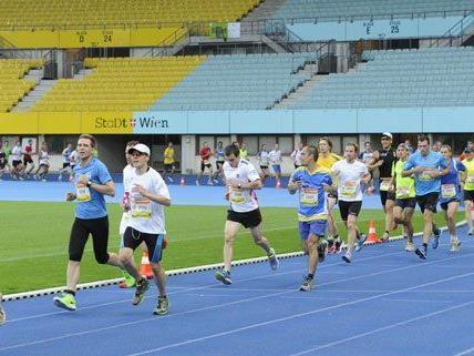 Beim Business Run wurde ein neuer Teilnehmerrekord verzeichnet.