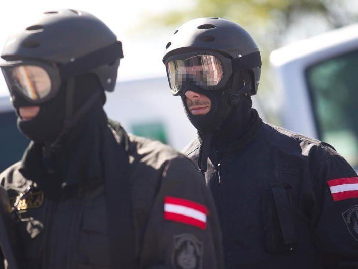 """Mit Unterstützung des Einsatzkommandos """"Cobra"""" konnte der Mann festgenommen werden"""