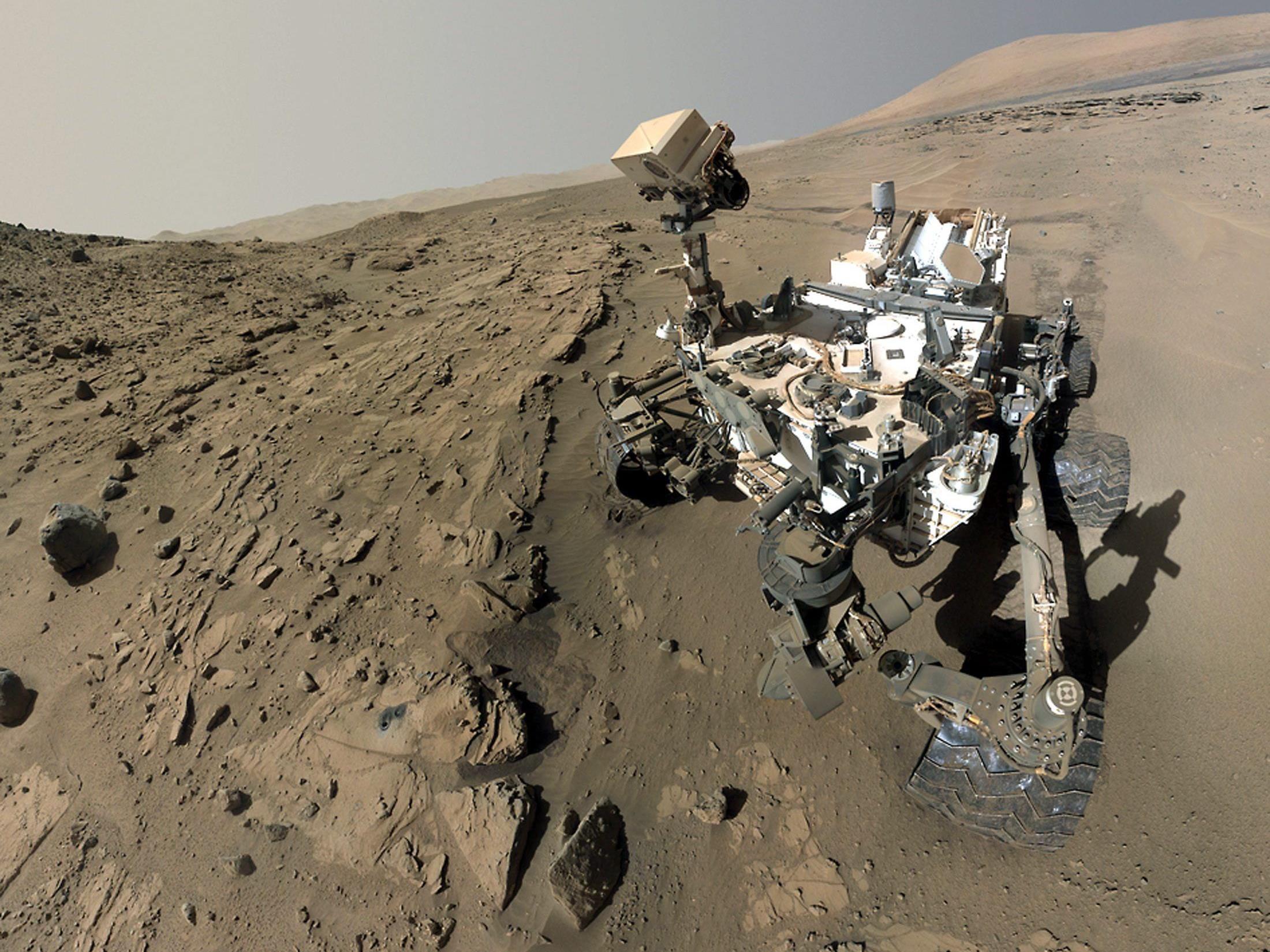 """Curiosity""-Selfie: Das ""kurioseste"" Selfie aller Zeiten"