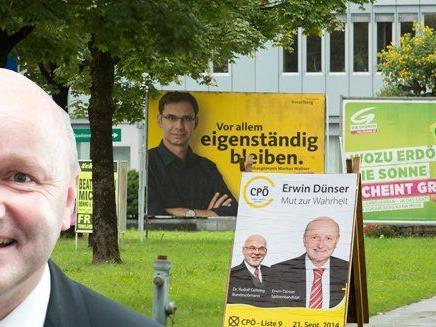 Erwin Dünser will mit der Christlichen Partei Österreichs in den Landtag.