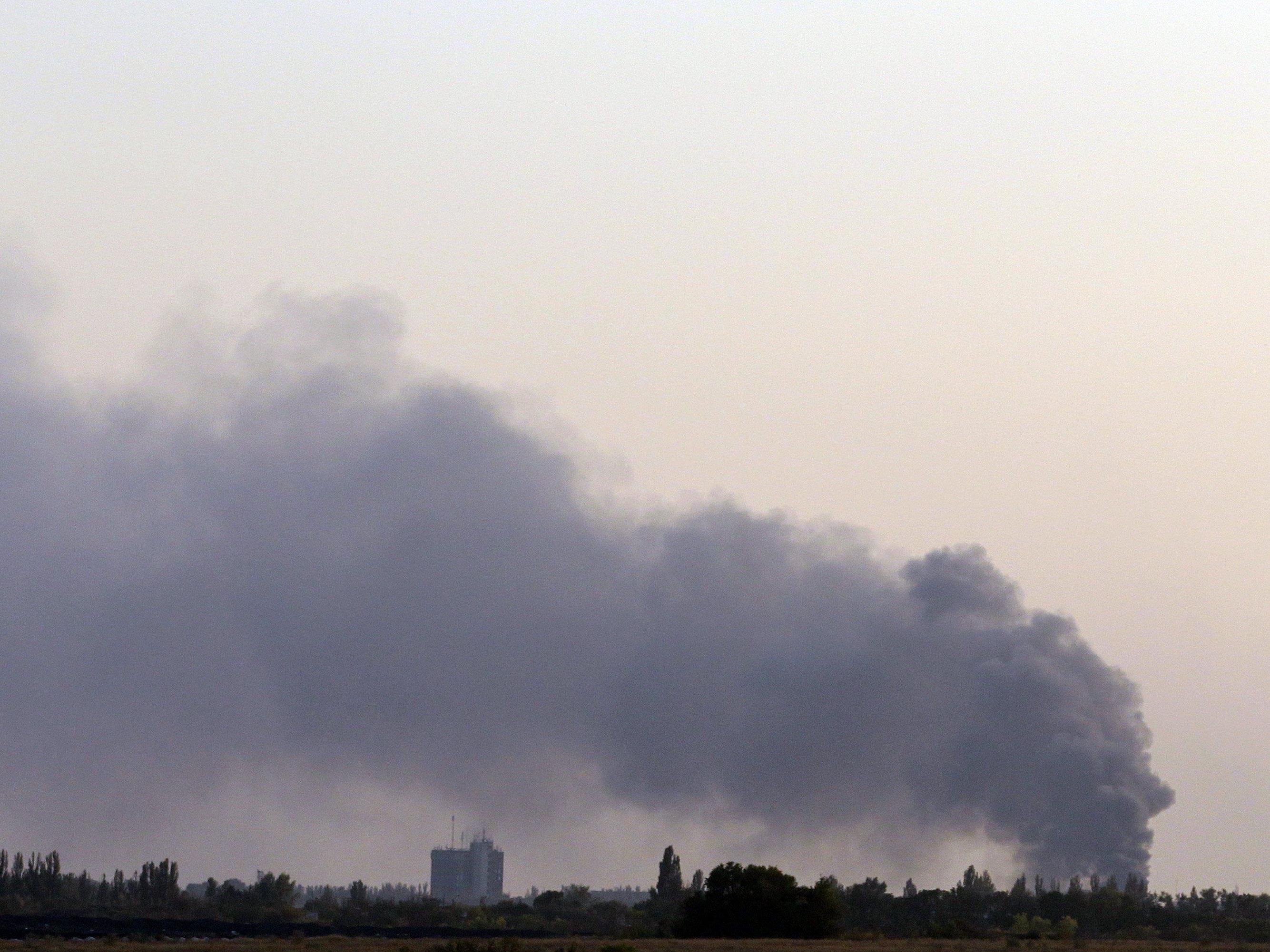 Sieben Soldaten wurden in Donezk getötet.