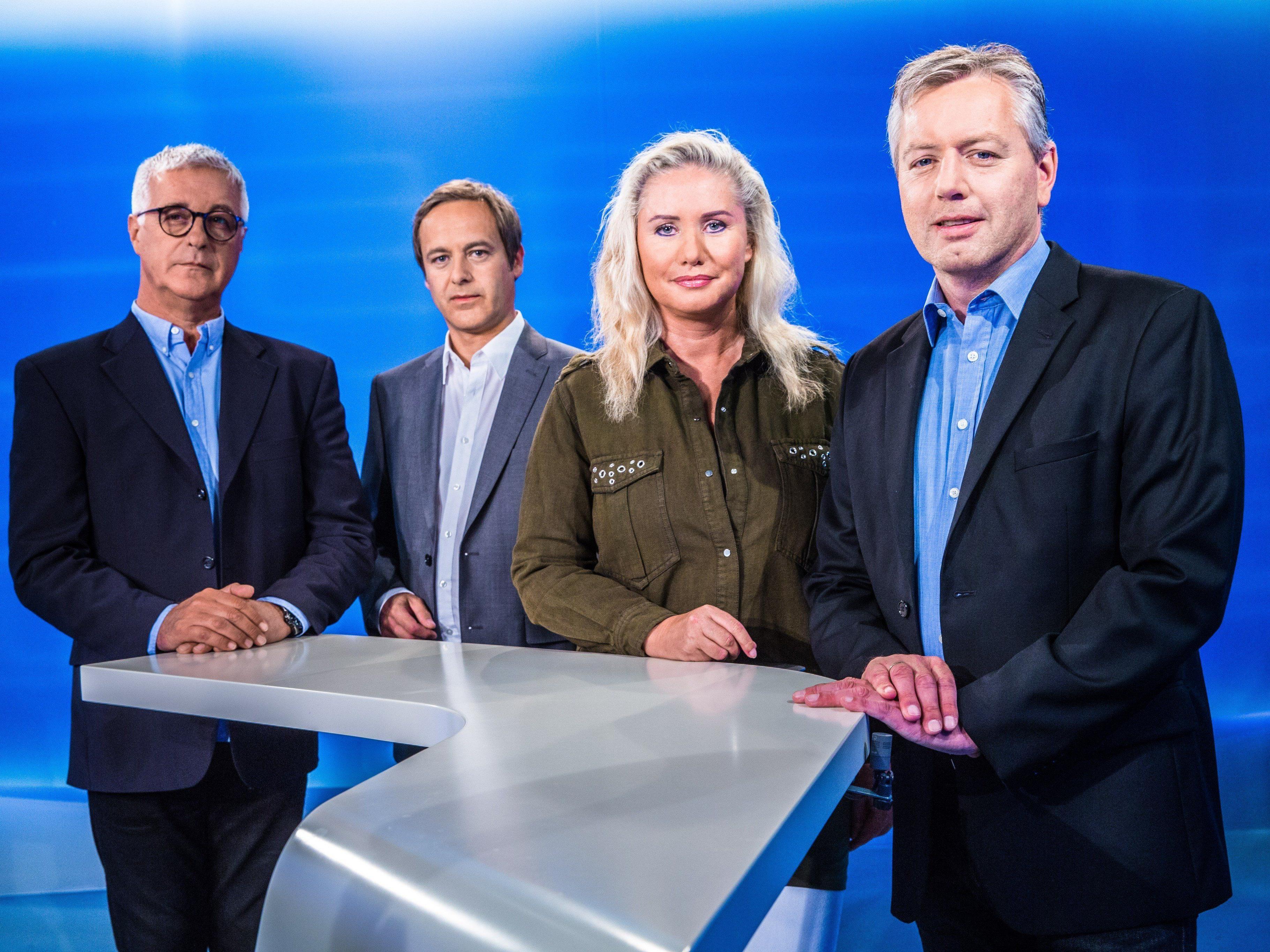 Tony Walser, Daniel Rein, Verena Daum-Kuzmanovic und Gerd Endrich moderieren die Diskussionen.