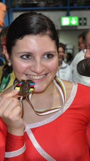 Adriana Mathis ist schon in WM-Form.