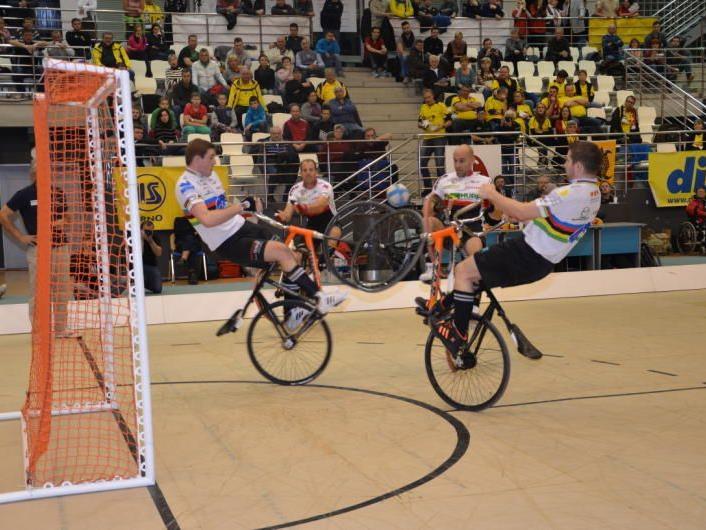 Starke Leistungen der Radballer beim Weltcup und beim Turnier in Oftringen