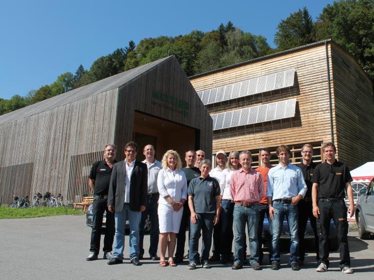 Eine neue Form der Präsentation und des Kundenkontakts setzten Kleinunternehmen auf dem Hof von Ingo Metzler um.