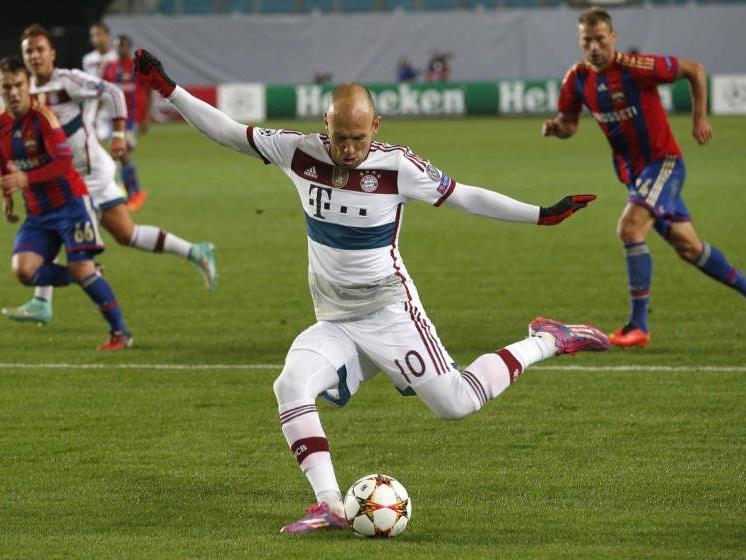 Robben & Co siegen im Geisterspiel