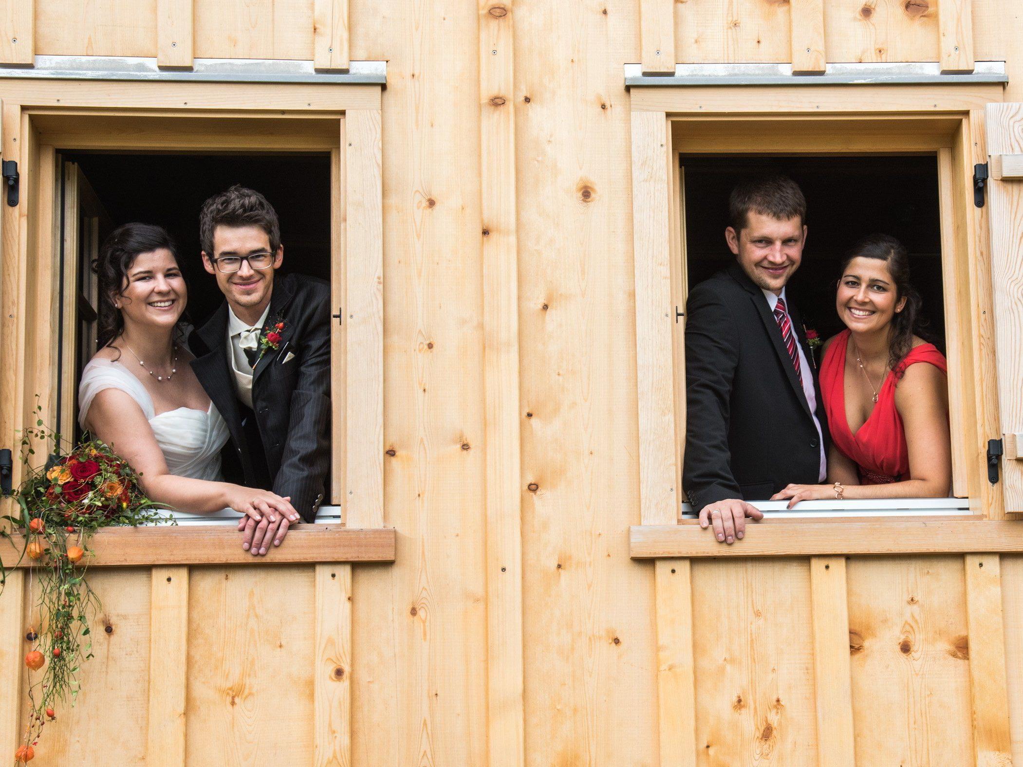 Das VOL.AT-Team gratuliert Sandra und Michael zur Vermählung herzlich.