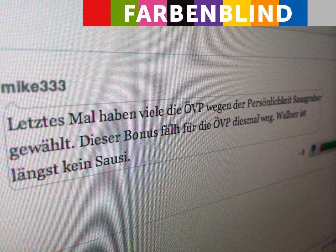 """Die """"Kampfposter"""" der FPÖ sind auch in unserem Forum besonders aktiv."""
