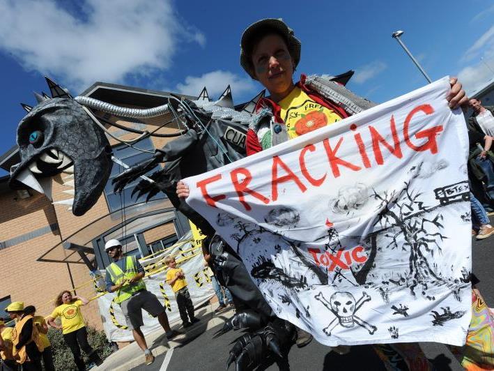 Weltweit protestieren Aktivisten für ein Fracking-Verbot. In Österreich ist keines in Aussicht.