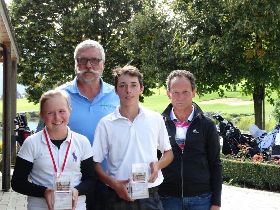Jäger und Rüttimann wurden neue Golf-Jugend-Landesmeister.