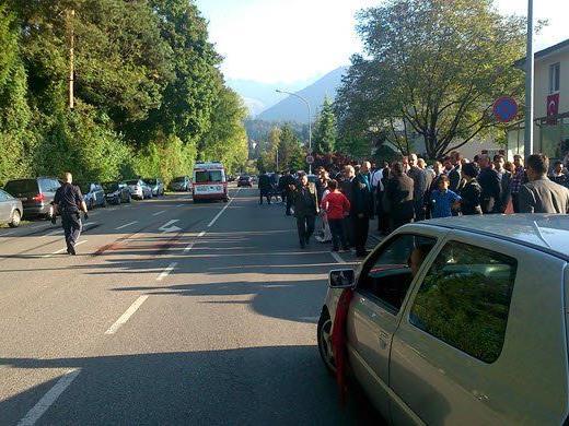 Eine Hochzeitsfeier in Feldkirch mündete in einer handfesten Auseinandersetzung mit der Polizei.
