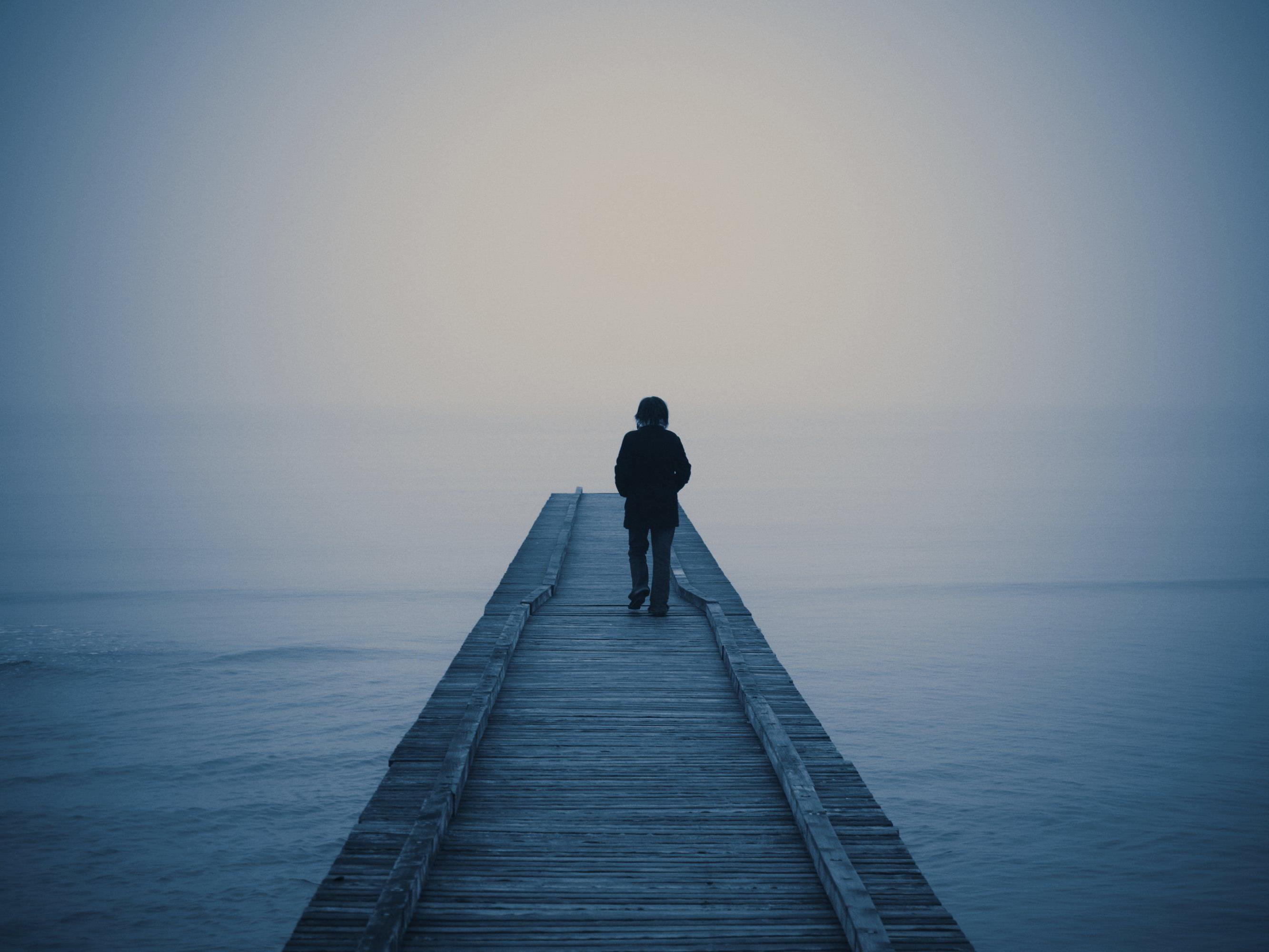 An Depressionen erkrankte Menschen bilden die Hauptrisiko-Gruppe.