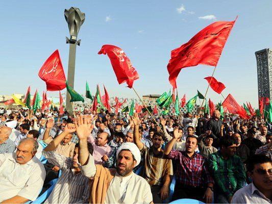 Derzeit gibt es wieder Demonstationen und Auseinandersetzungen im Irak
