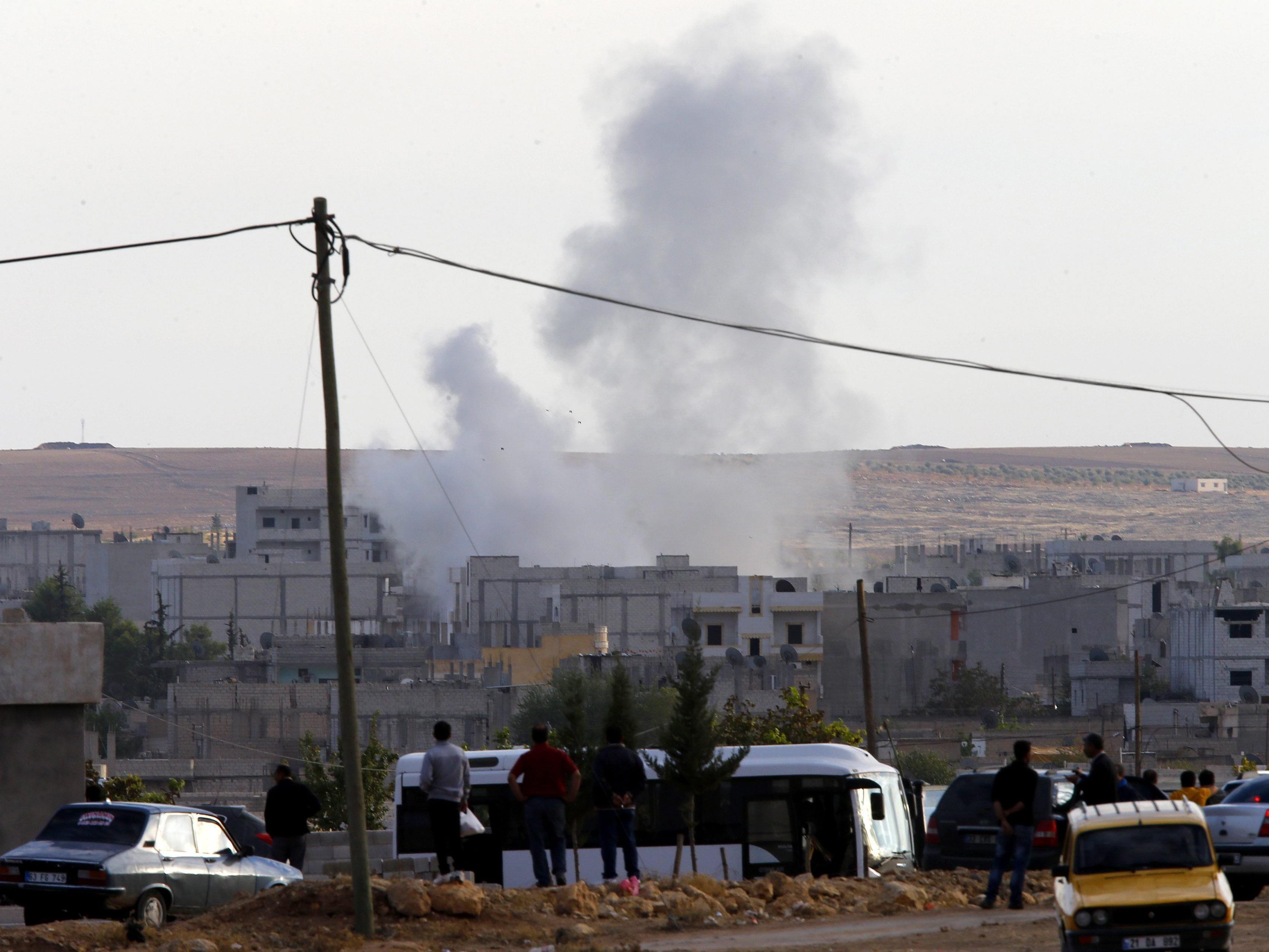 IS rückt näher an Kobane heran