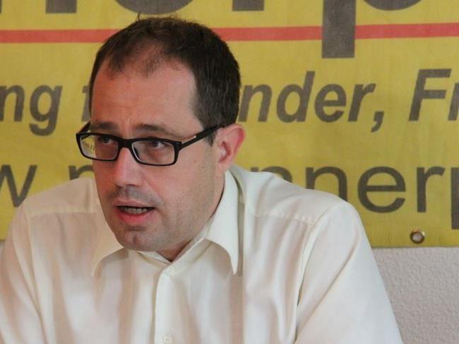 Hannes Hausbichler ist der Spitzenkandidat der Männerpartei.