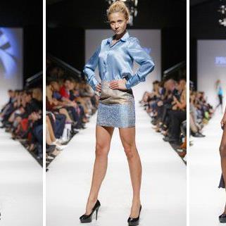 Viel Abwechslung gab es am Samstag auf der Fashion Week zu sehen.