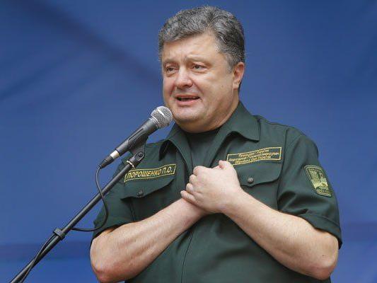 Urkraines Präsident Petro Poroschenko