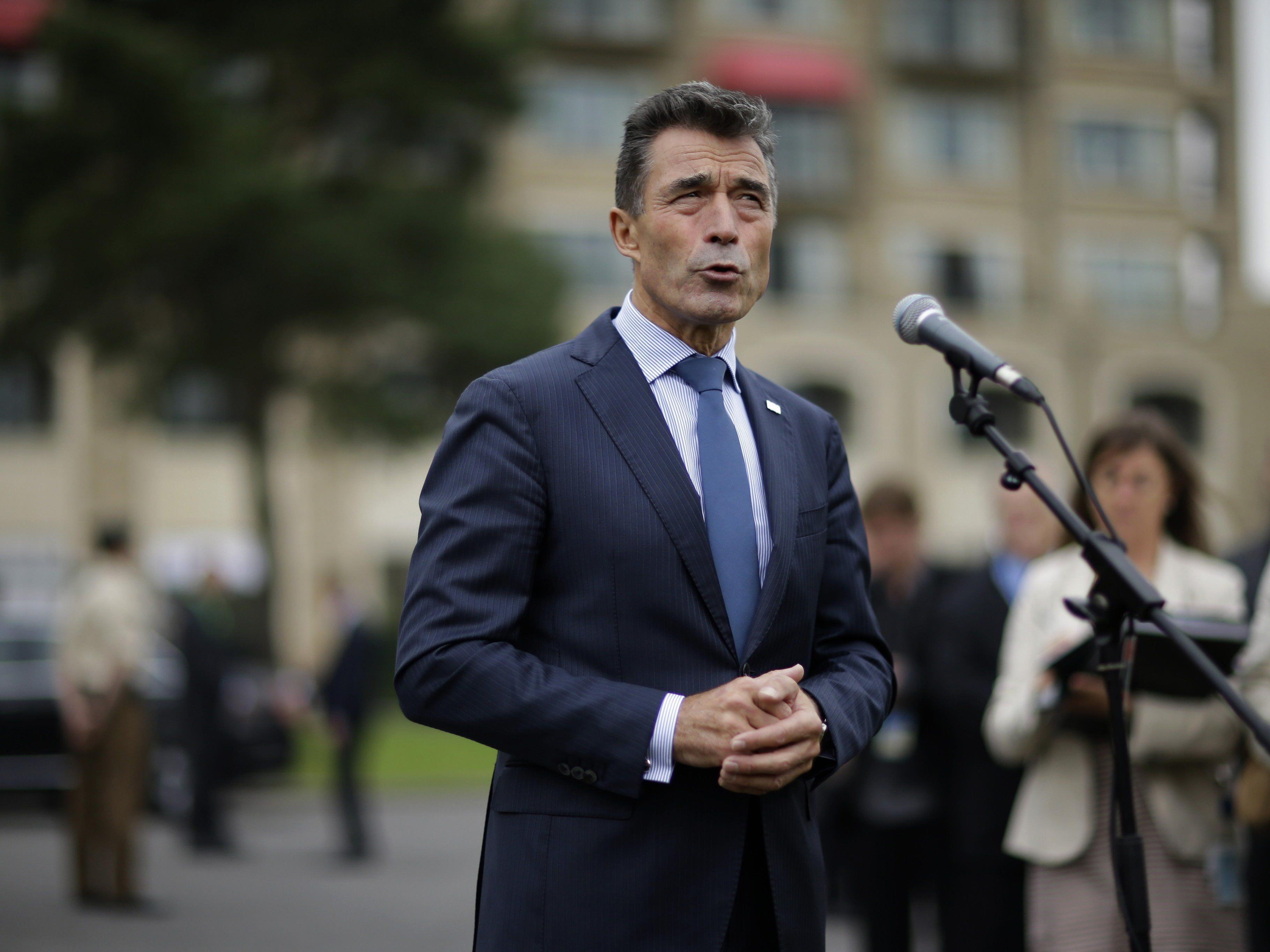 """Rasmussen: """"Mehrere Tausend"""" Mann binnen weniger Tage mobilisierbar"""