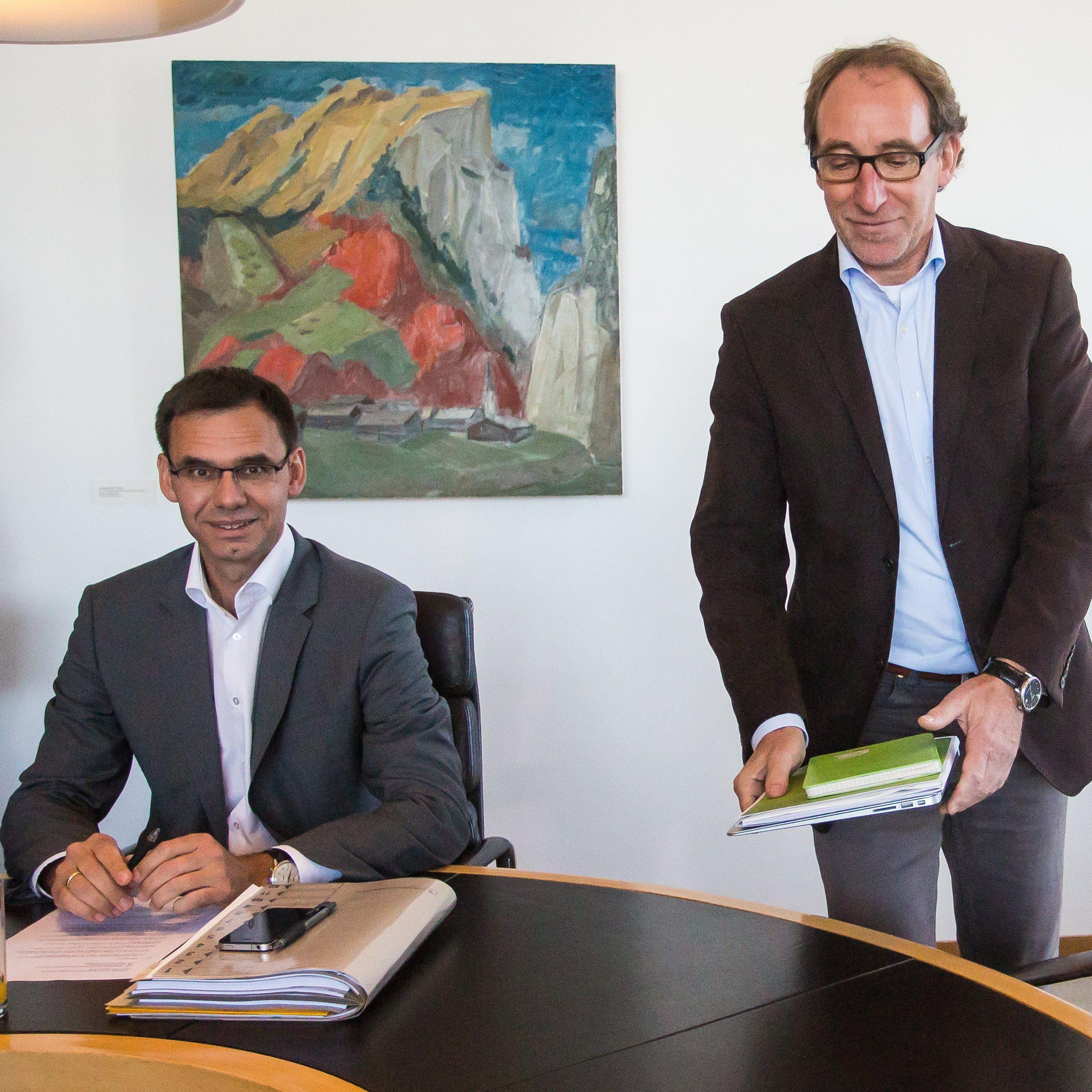 Nach Vorarlberg-Wahl: Noch keine Entscheidung über weitere Sondierungsgespräche