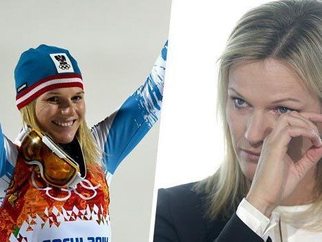 Ein Abschied mit Tränen: Marlies Schild, die (bis auf weiteres) beste Slalom-Läuferin aller Zeiten, tritt zurück.