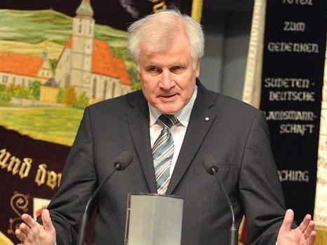 Horst Seehofer von der bayerischen CSU ist sauer auf die große Schwesterpartei CDU.