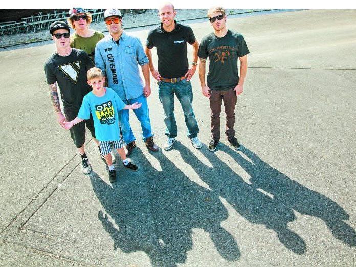 Skater aus dem Montafon