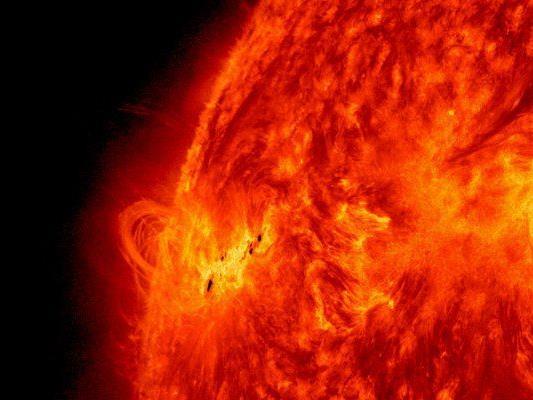 Sonneneruptionen haben Magnetsturm ausgelöst