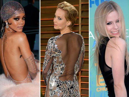 Popstar Rihanna, Oscar-Preisträgerin Jennifer Lawrence und Sängerin Avril Lavigne unter den Opfern.