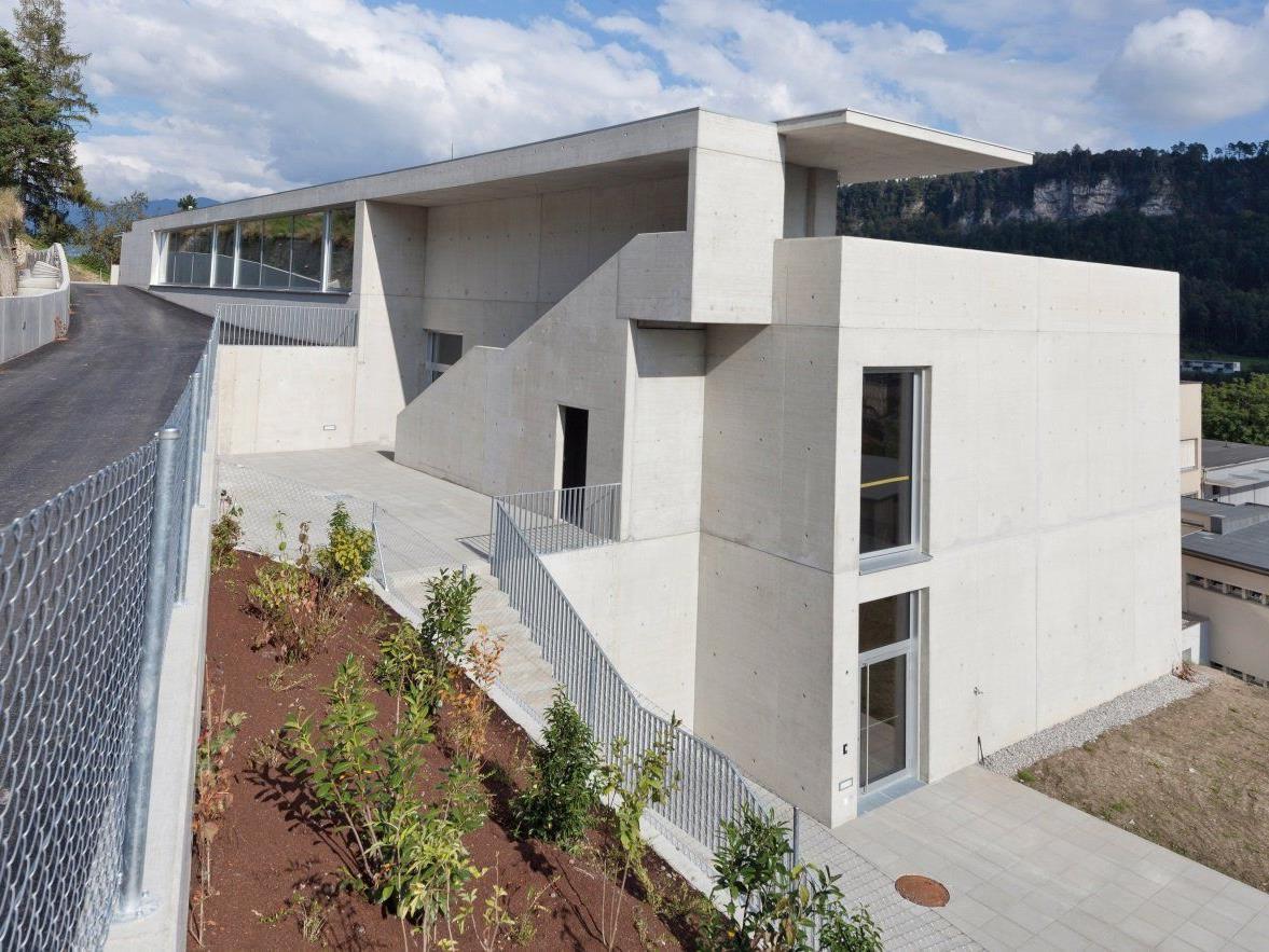 Neu errichteter Sonderklassentrakt am Institut St. Josef in Feldkirch.