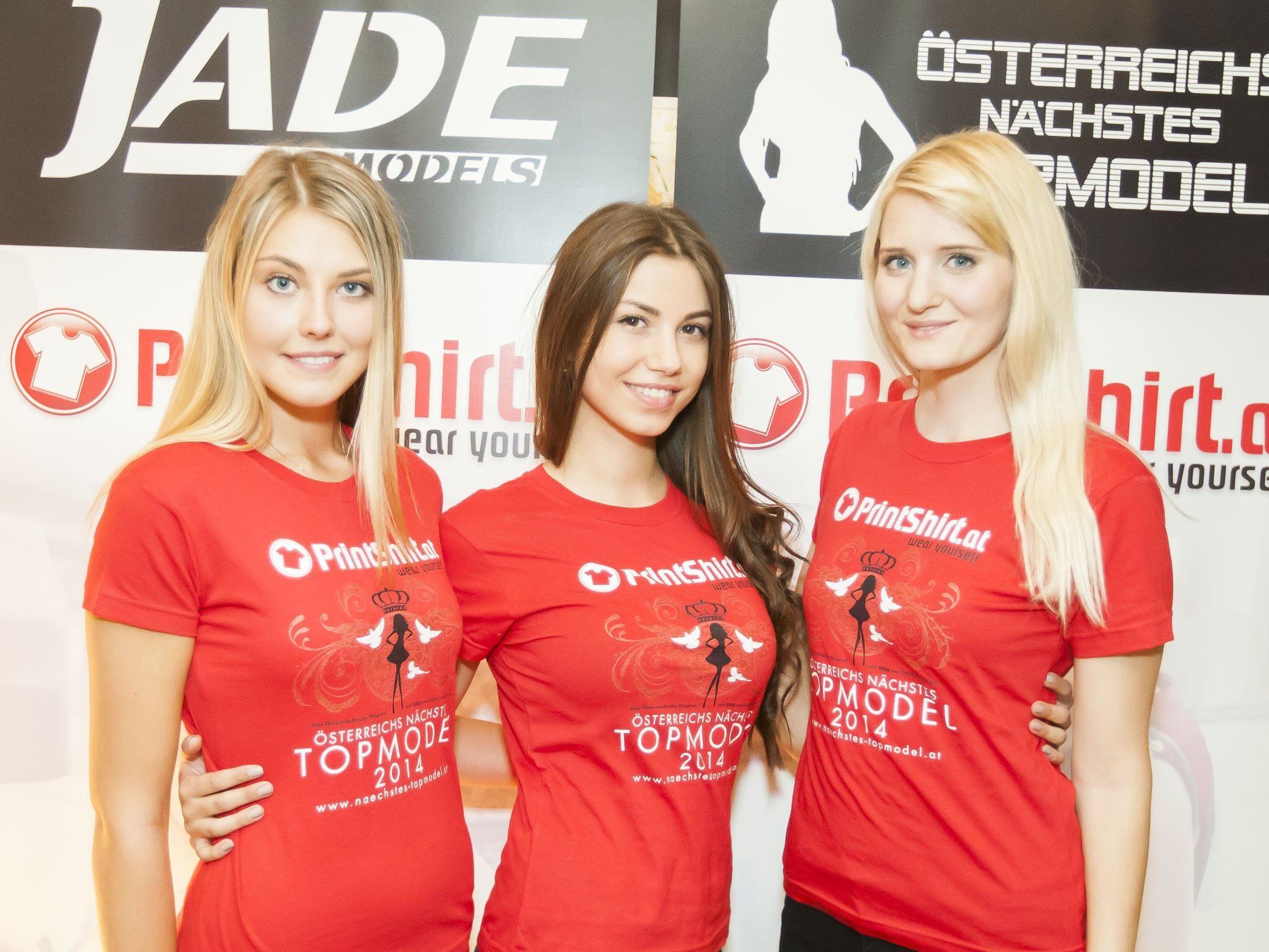Angela Hasler (3. Platz), Diana Raykova (1. Platz) und Jacqueline Pichler (2. Platz).